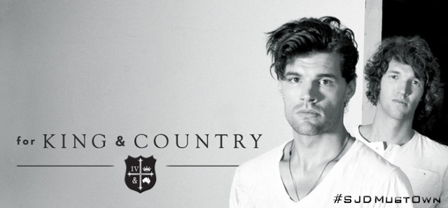 for KING & Country Banner