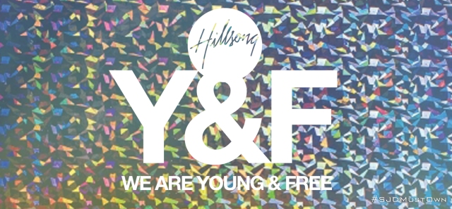 Hillsong Young & Free banner